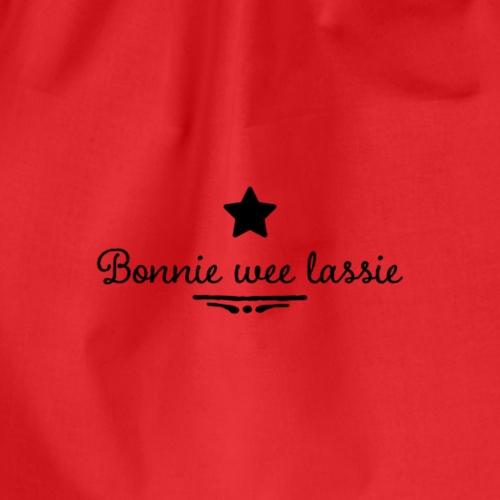 Bonnie wee lassie - Drawstring Bag