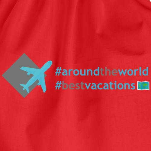 All In Life Traveling Hashtag - Sacca sportiva