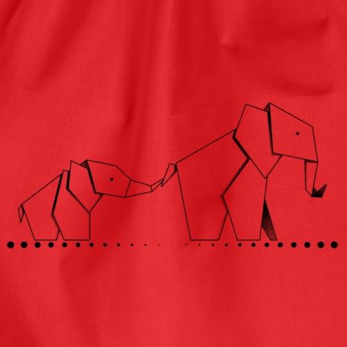Elefantes de papel - Mochila saco