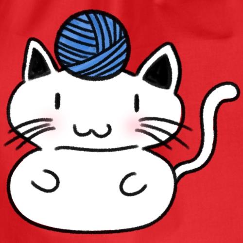 Gatito jugando - Mochila saco