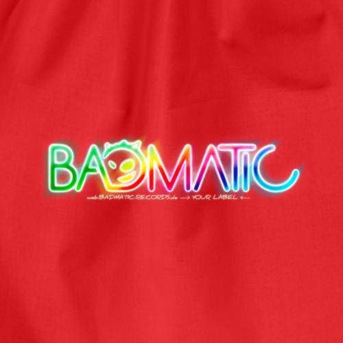 Badmatic Records de White Logo Style 2k19 - Turnbeutel