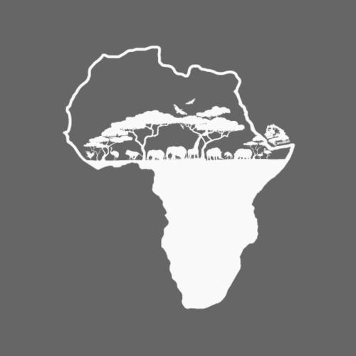 Savane Afrique logo Blanc