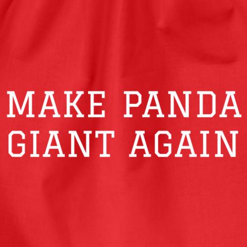 Make Panda Giant Again - Sac de sport léger