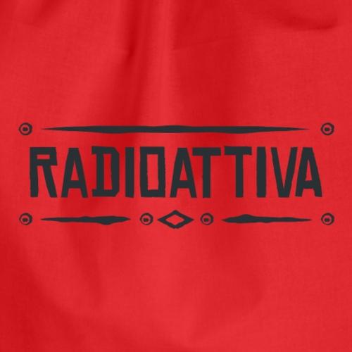 Radioattiva Vintage - Sacca sportiva