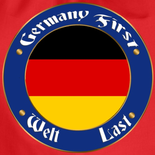 germany first - Drawstring Bag
