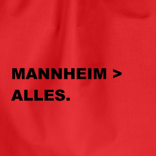 MANNHEIM > ALLES. - Turnbeutel