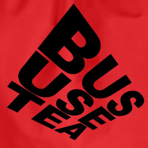 T Shirt Bus Use Tea - Turnbeutel