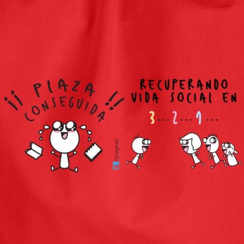 Plaza conseguida: Recuperando vida social en 3 2 1 - Mochila saco