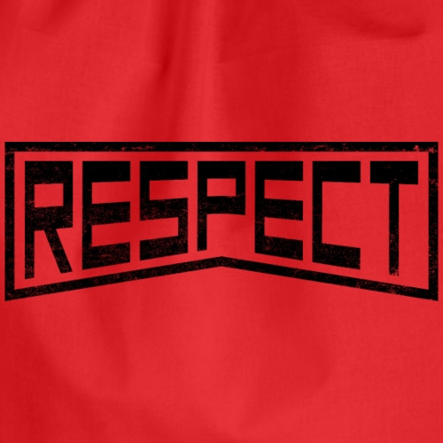 Respect Graphic - Drawstring Bag