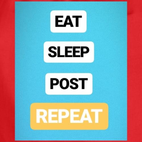 EAT, SLEEP, POST - Turnbeutel