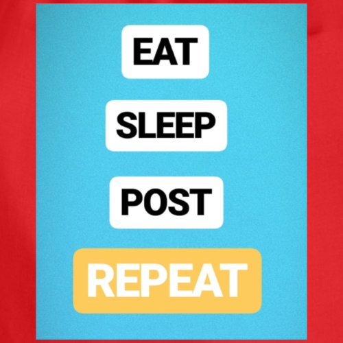 EAT, SLEEP, POST - Turnbeutel