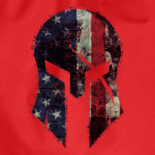 American Spartan T Shirt - Turnbeutel