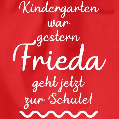 Kindergarten war gestern (Frieda) - Turnbeutel