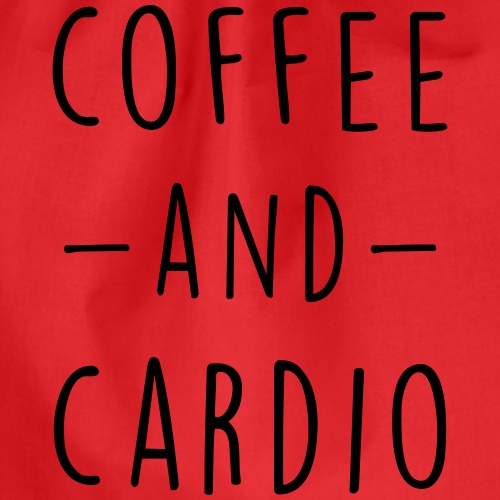 coffee and cardio - Sac de sport léger
