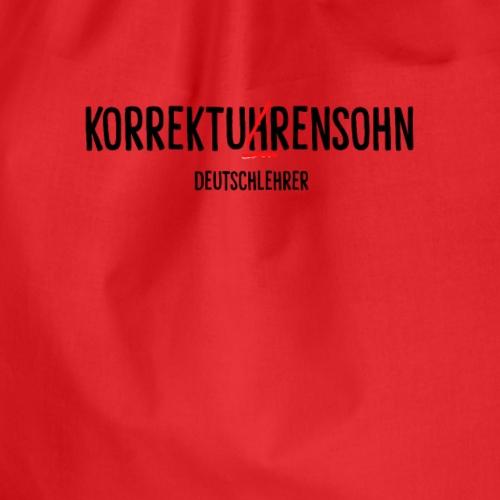 KORREKTUHRENSOHN - Turnbeutel