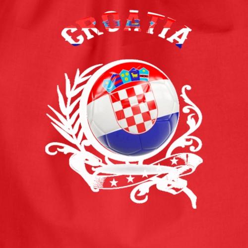 T SHIRT CROATIA Kroatien - Turnbeutel