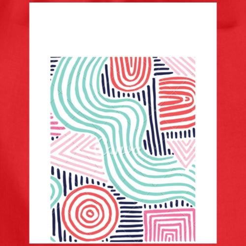 Labirint mit verschiedenen Farben - Turnbeutel