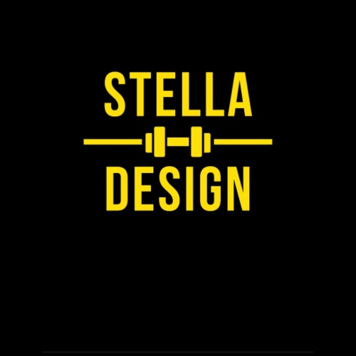 Yellow and Black Fitness hoodie - Gymnastikpåse