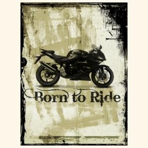 Born to Ride - Turnbeutel