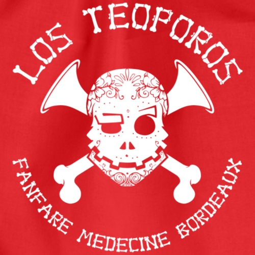Los Teoporos Detail Blanc - Sac de sport léger