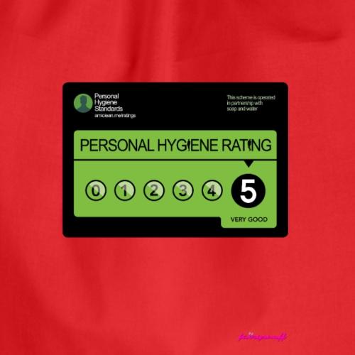 Personal Hygiene Rating - Drawstring Bag