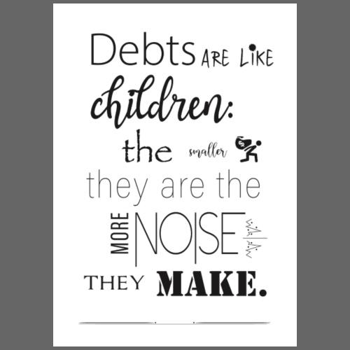 Children's Debt - Drawstring Bag