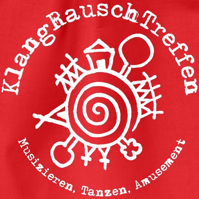 KlangRauschTreffen Logo mit Schrift rund