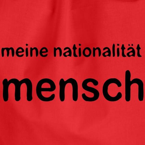 nationalität mensch v 170 - Drawstring Bag