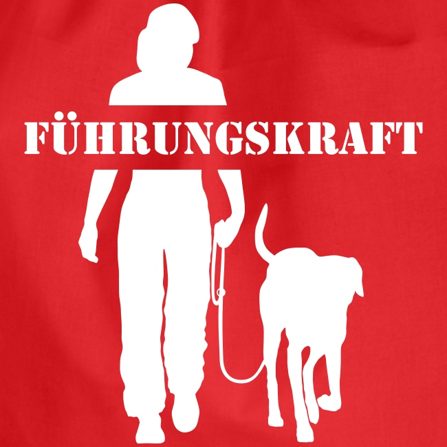 Vorschau: Führungskraft female - Turnbeutel