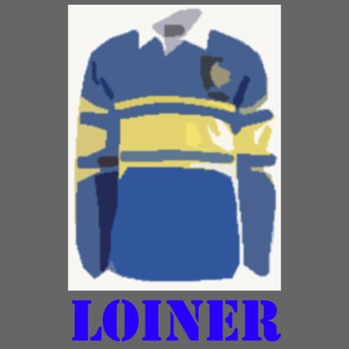 Leeds Loiner [Blue] - Drawstring Bag
