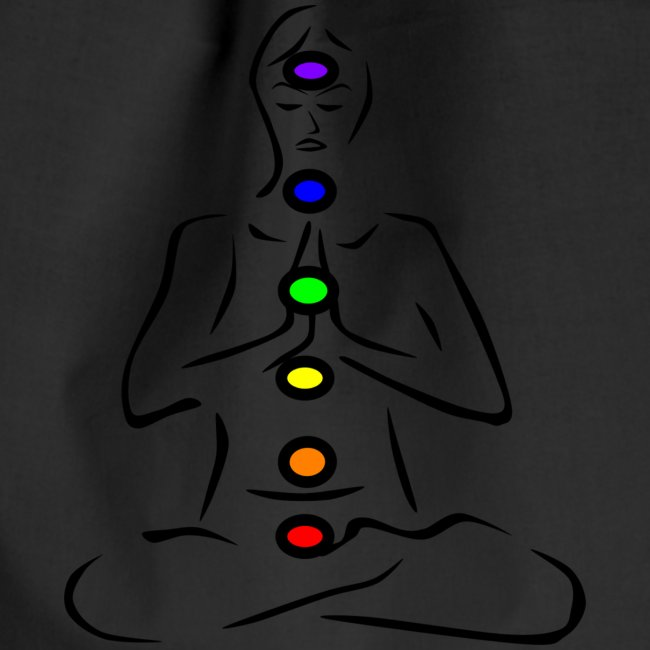 chakras illustrated