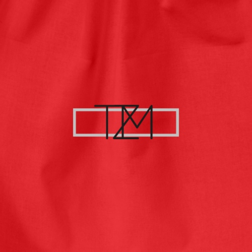 TMZ Logo black grey - Turnbeutel