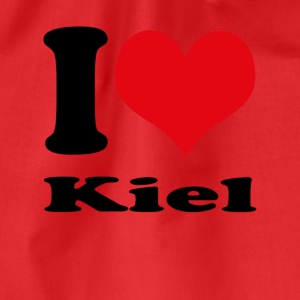 I love Kiel - Drawstring Bag
