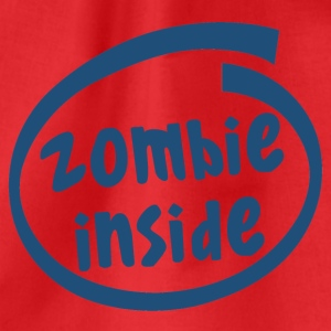 zombie inside (1840C) - Drawstring Bag