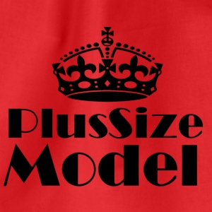 Plus Size Model - Turnbeutel