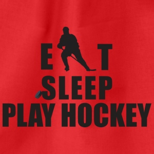 Eat Sleep giocare a hockey - Sacca sportiva