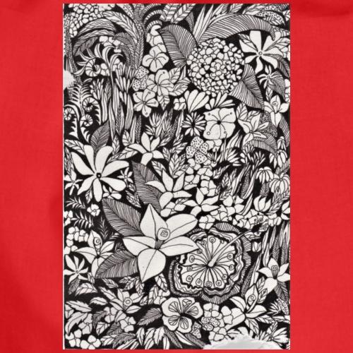 Graphique floral - Sac de sport léger