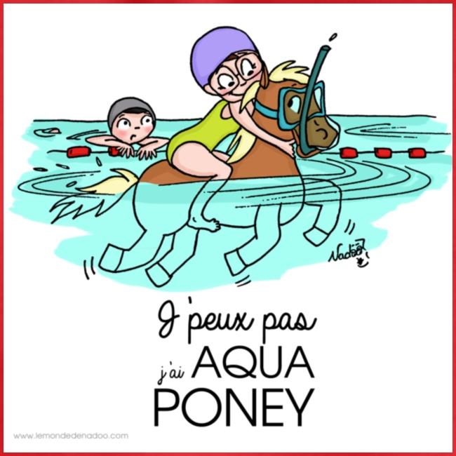 monde de nadoo aqua poney