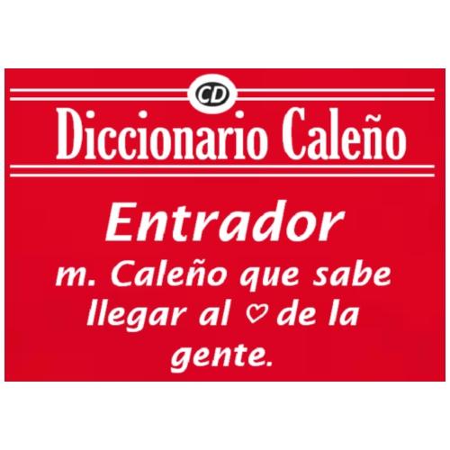 Diccionario Caleño - Mochila saco