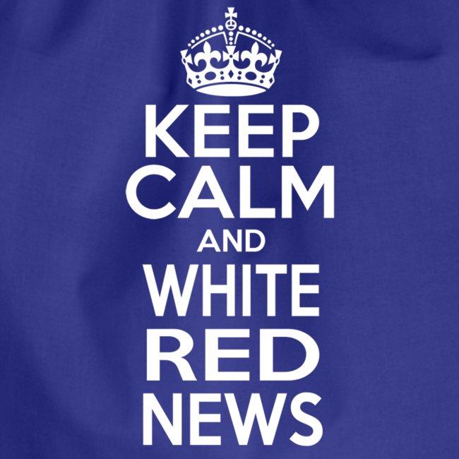 Tazza Rossa Keep Calm WRN