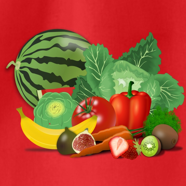 Fruits and vegetables lover