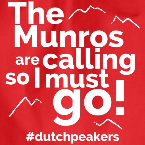 The Munros Are Calling - Drawstring Bag