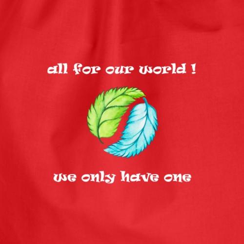 Umweltschutz Freitags Demo für unsere Zukunft - Turnbeutel