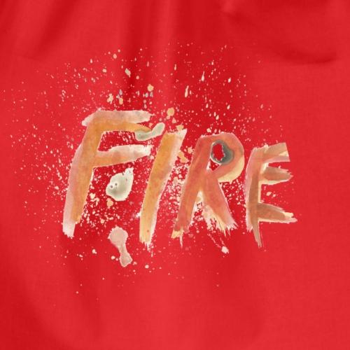 Fire - Turnbeutel