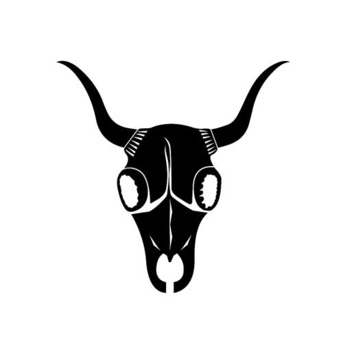Bufa Black Skull & Black Typo