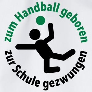 Handball Verein Schule Sportunterricht Training - Turnbeutel