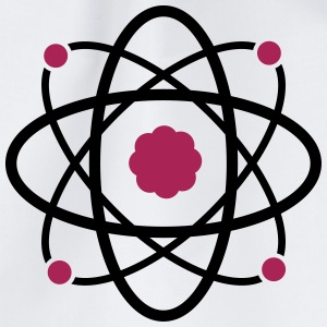 Atom Molekul Science - Turnbeutel