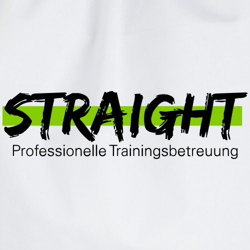 Straight Logo - Turnbeutel
