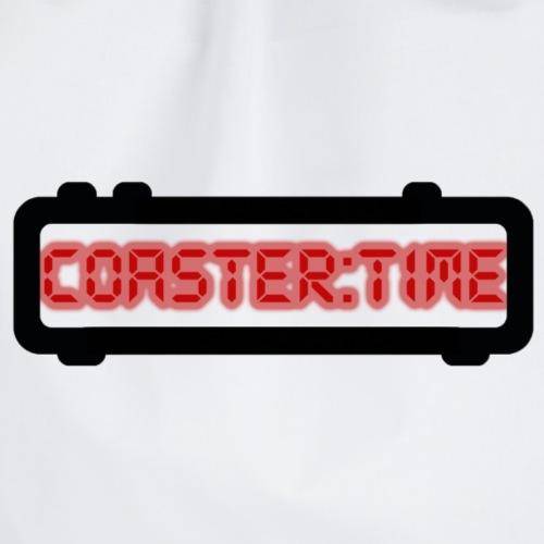 Coaster Time Schwarz - ParkTube - Turnbeutel