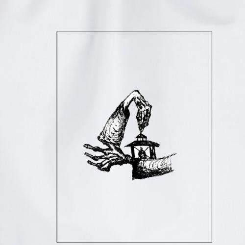 sweet release of death - Drawstring Bag